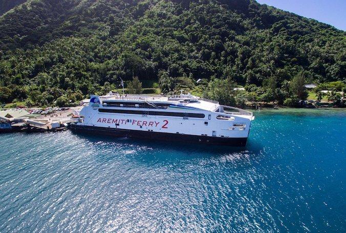 le ferry 2 est tres